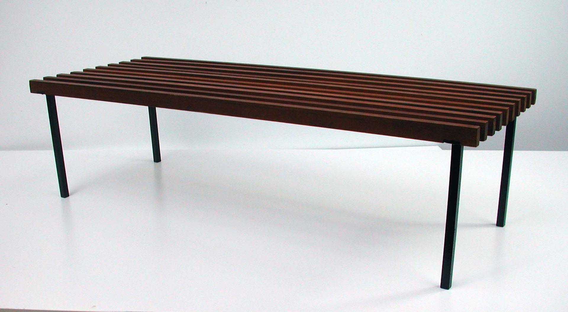 Vintage Danish Teak Bench For Sale At Pamono