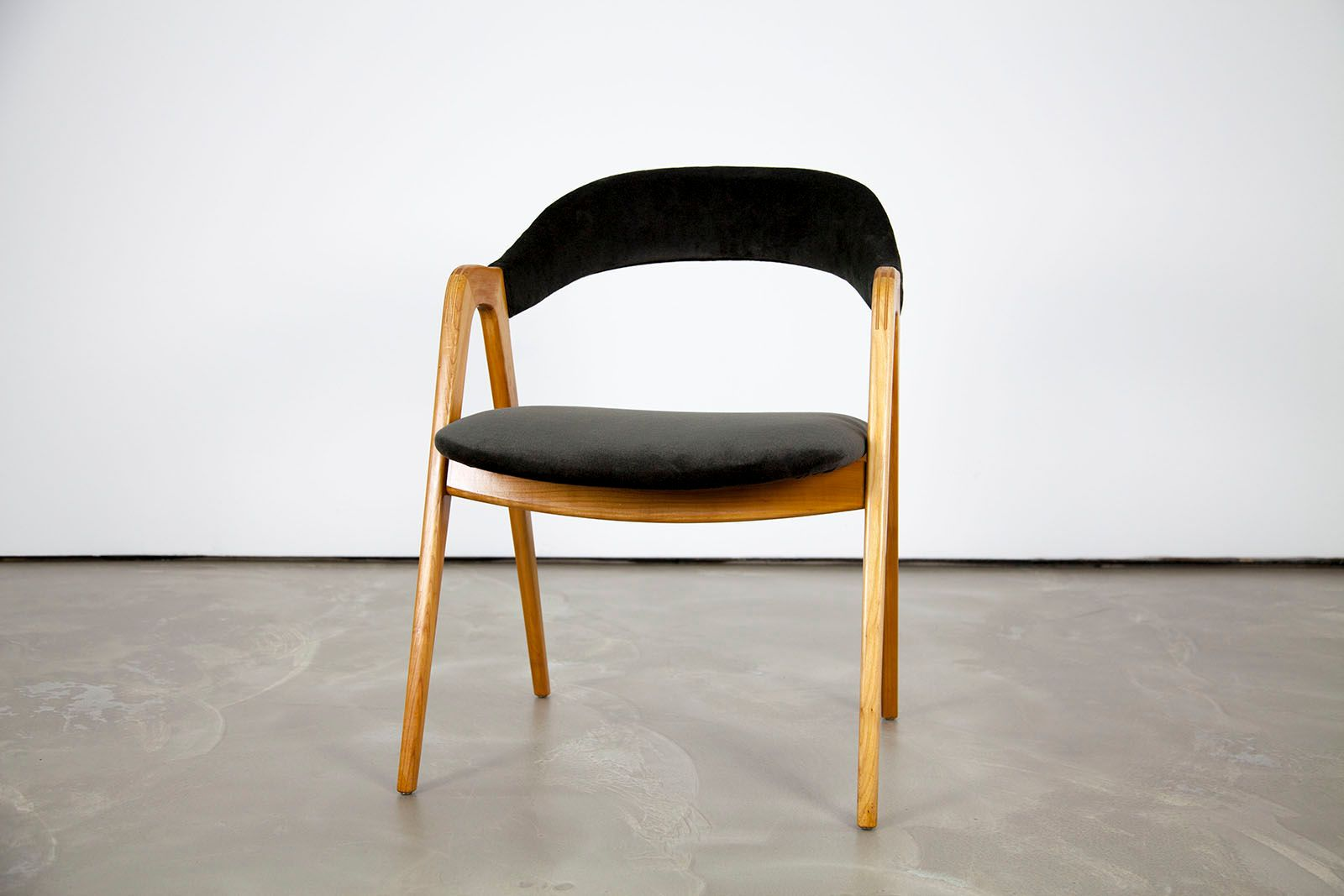 mid century arm chair from wk m bel for sale at pamono. Black Bedroom Furniture Sets. Home Design Ideas