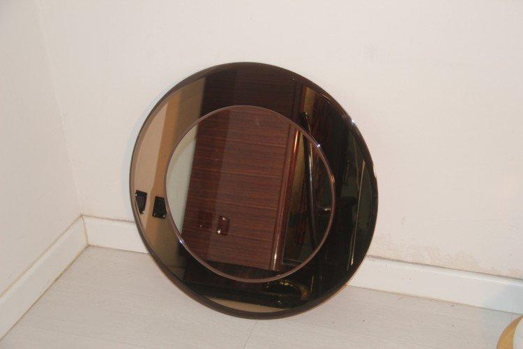 runder italienischer wandspiegel bei pamono kaufen. Black Bedroom Furniture Sets. Home Design Ideas