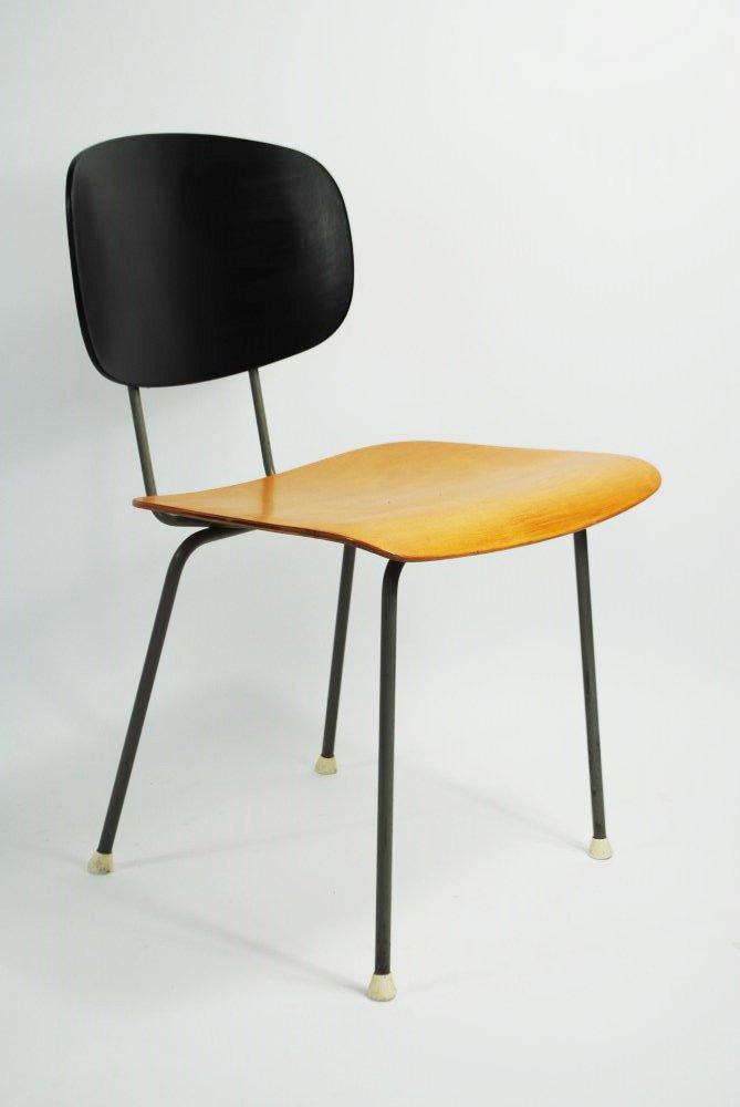 modell 116 stuhl von wim rietveld f r gispen 1950er bei. Black Bedroom Furniture Sets. Home Design Ideas