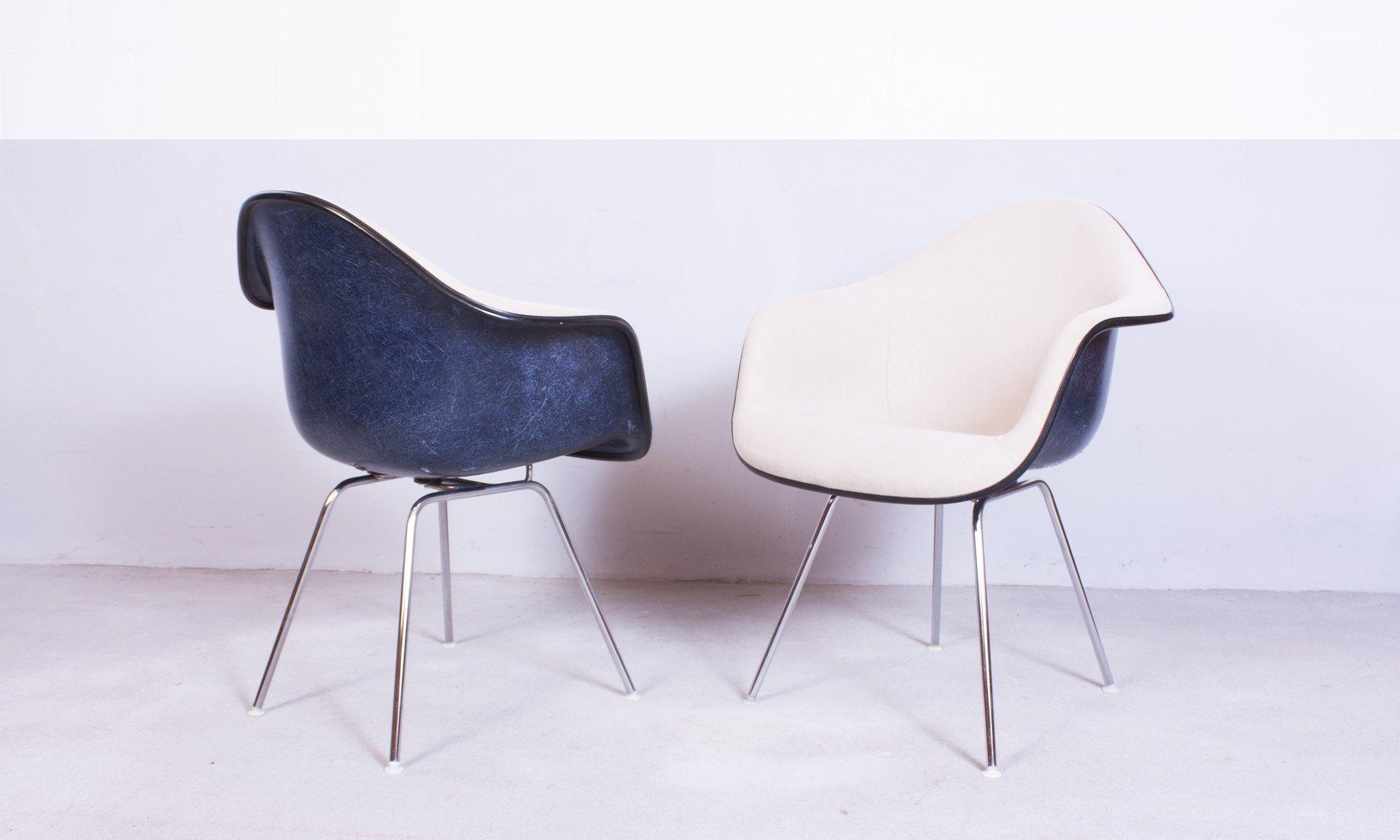 modell dax stuhl von charles ray eames f r herman miller 1952 2er set bei pamono kaufen. Black Bedroom Furniture Sets. Home Design Ideas