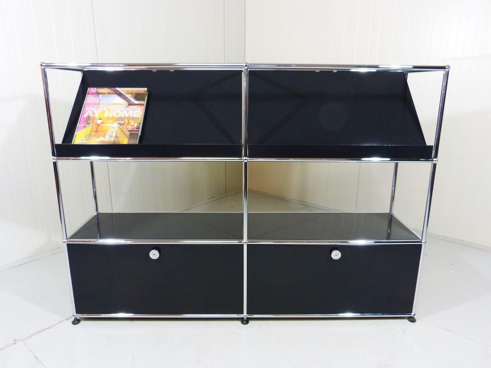 modulares regalsystem von fritz haller f r usm haller bei. Black Bedroom Furniture Sets. Home Design Ideas