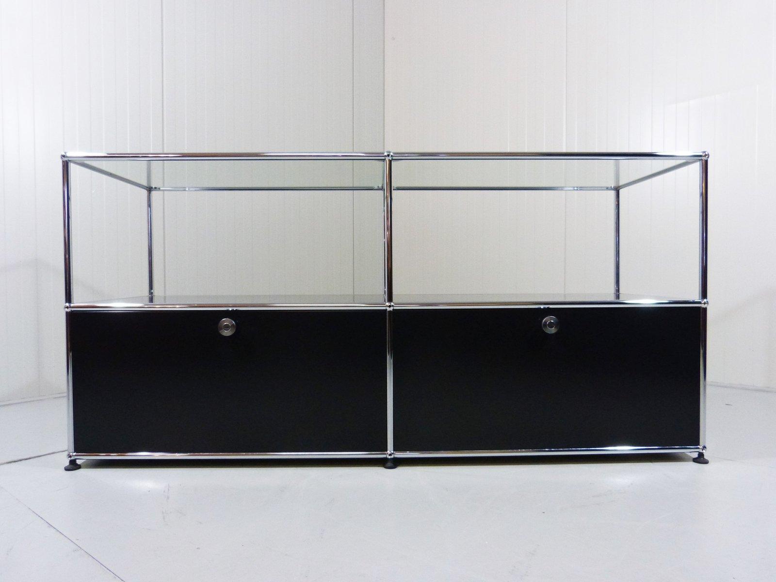modular sideboard system by fritz haller for usm haller. Black Bedroom Furniture Sets. Home Design Ideas