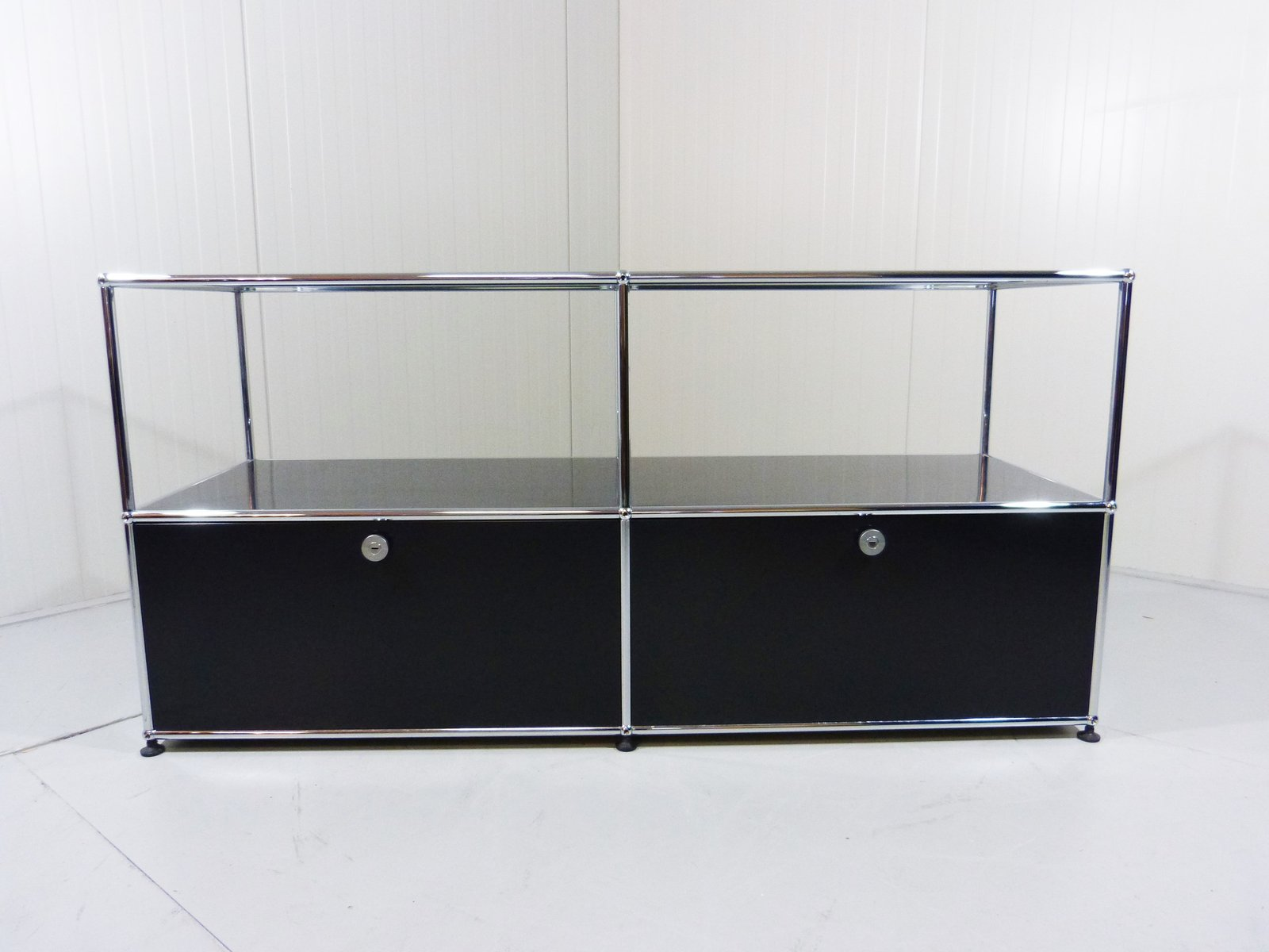 modular sideboard system by fritz haller for usm haller for sale at pamono. Black Bedroom Furniture Sets. Home Design Ideas