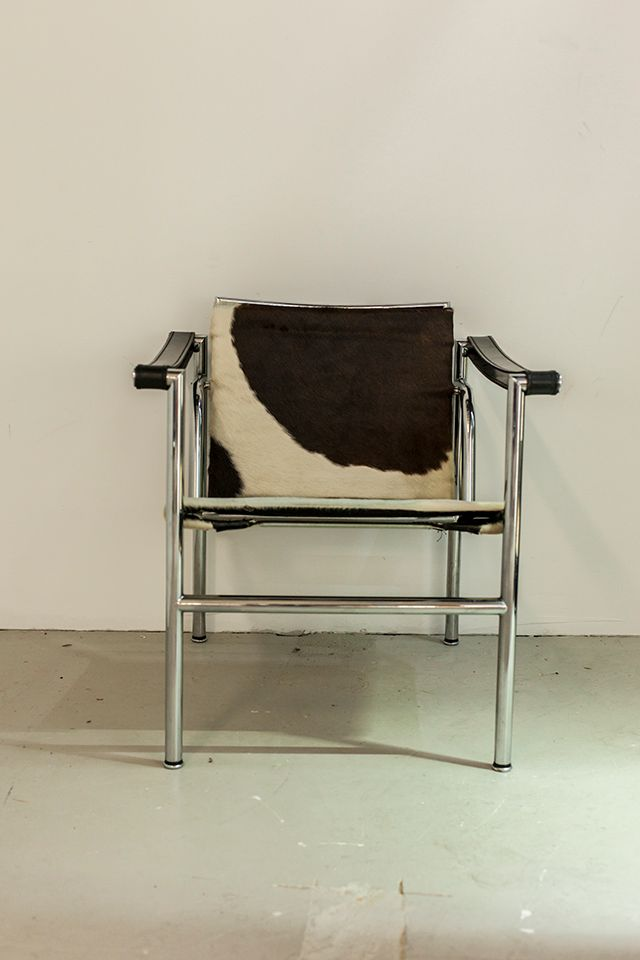Lc1 Chrome Chair By Le Corbusier For Cassina For Sale At