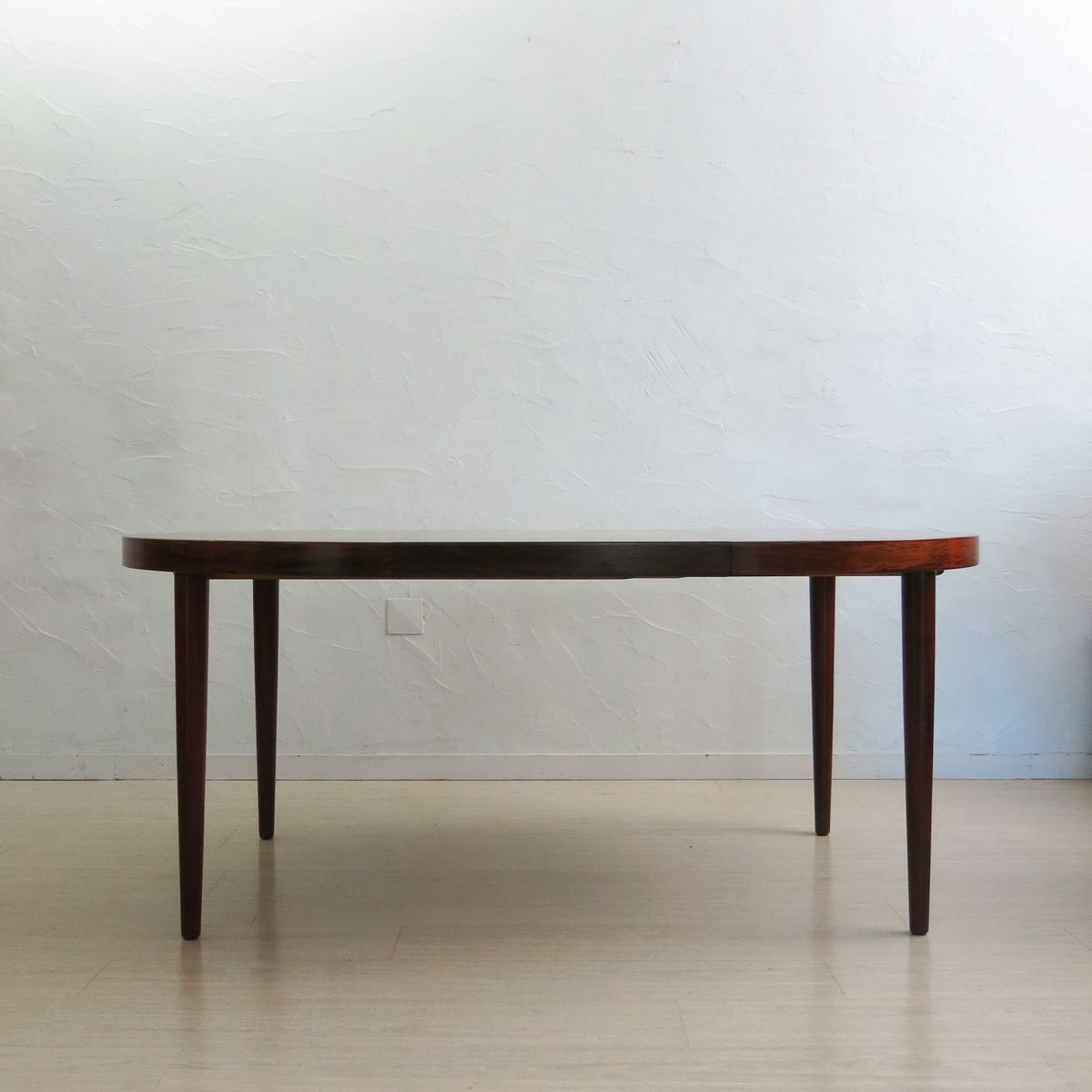 Vintage Extendable Rosewood Dining Table by Kai  : vintage extendable rosewood dining table by kai kristiansen 9 from www.pamono.com size 1200 x 1200 jpeg 65kB