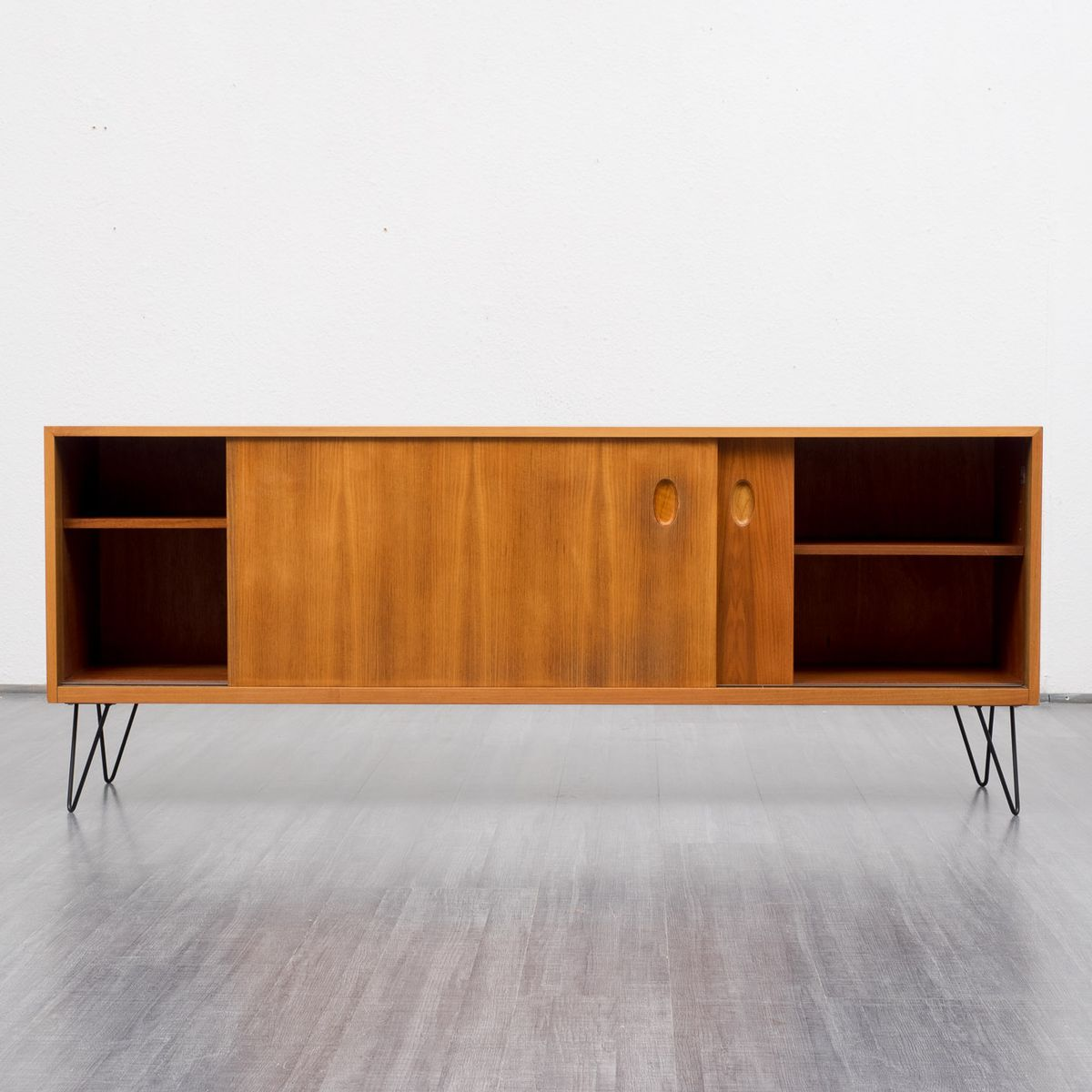 vintage walnut sideboard by georg satink for wk m bel for. Black Bedroom Furniture Sets. Home Design Ideas