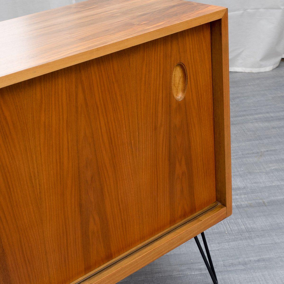 Vintage Walnut Sideboard by Georg Satink for WK Möbel for sale at Pamono -> Vintage Möbel Nrw