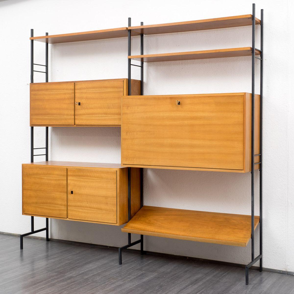 wandregalsystem mit sekret r bei pamono kaufen. Black Bedroom Furniture Sets. Home Design Ideas