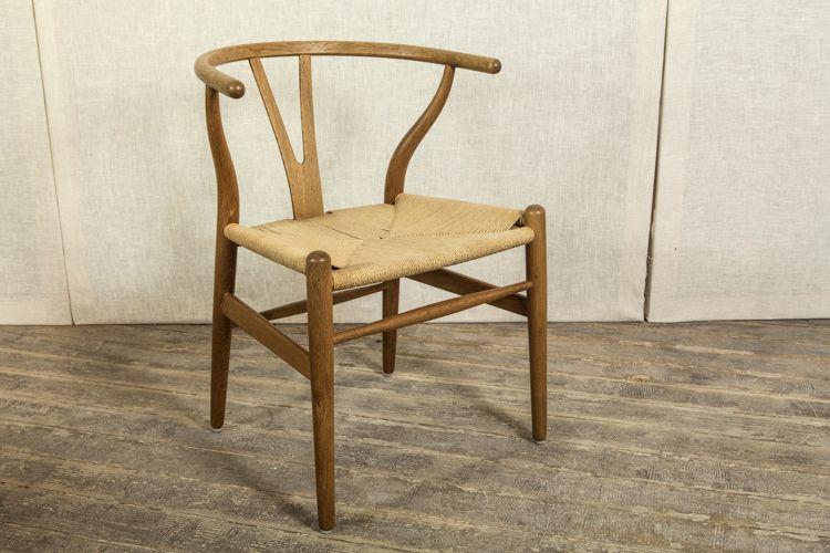 wishbone stuhl von hans j wegner bei pamono kaufen. Black Bedroom Furniture Sets. Home Design Ideas