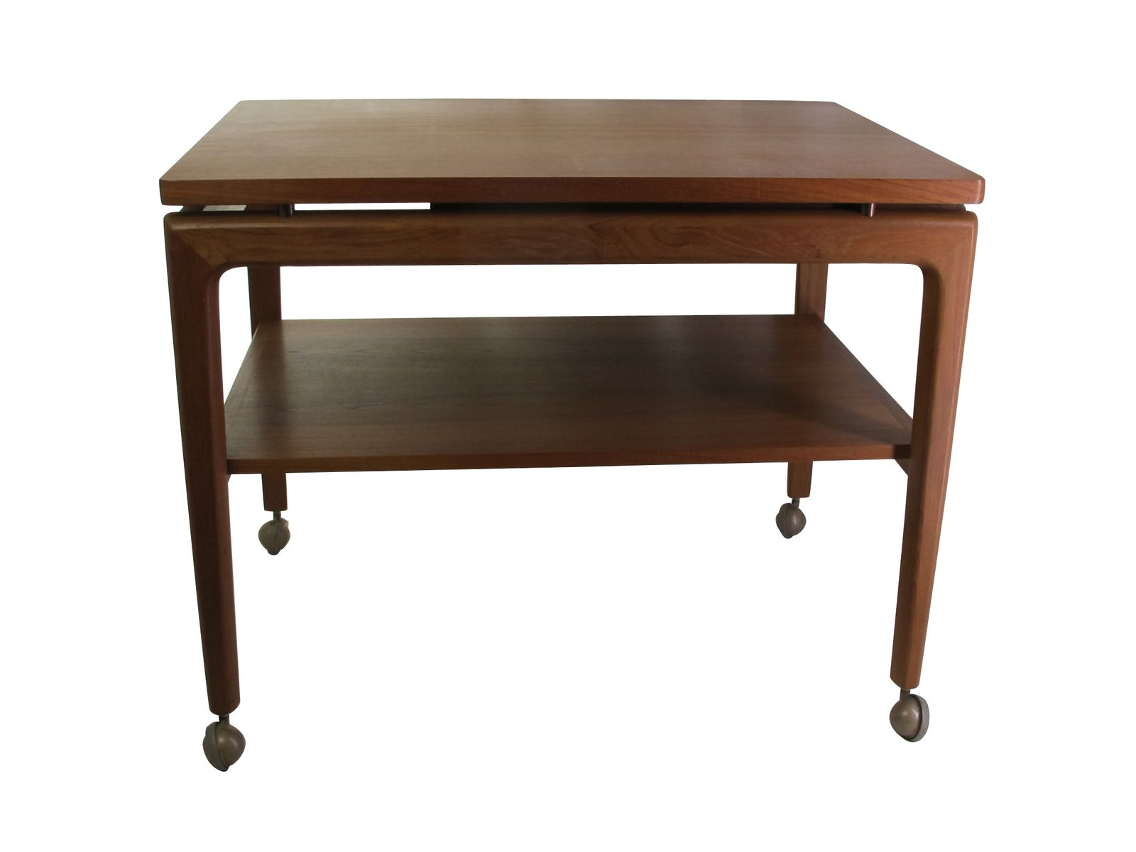 Teak Trolley Or Coffee Table From France Son 1960s For Sale At Pamono