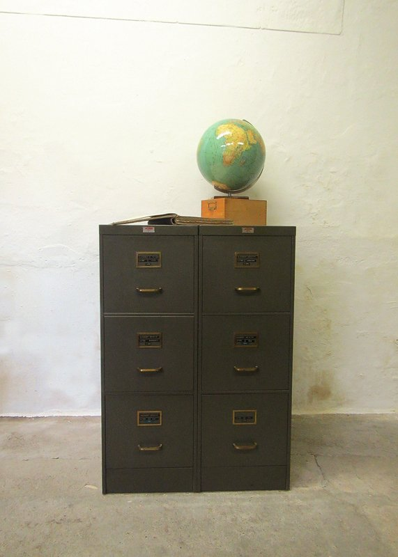 Aktenschrank design  Metal Filing Cabinet from Acior for sale at Pamono