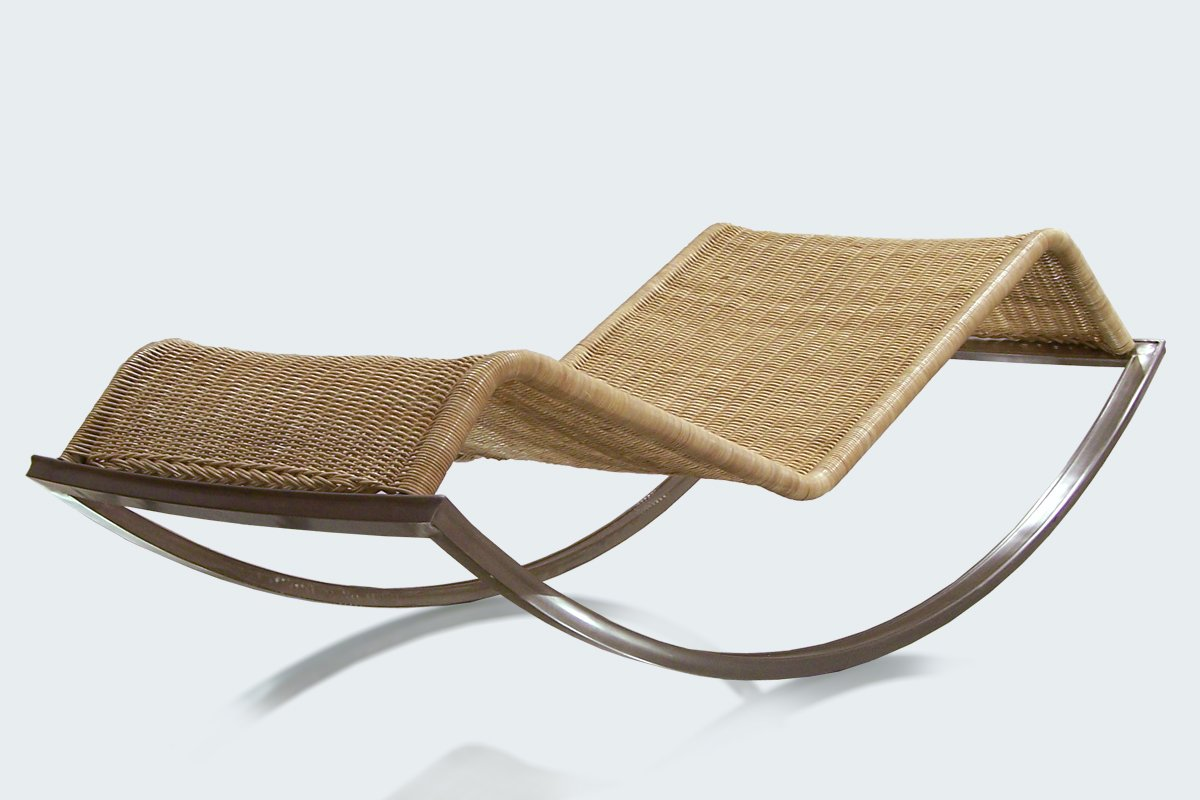 Siesta rocking chaise lounge by luis ram rez for sale at for Chaise longue siesta