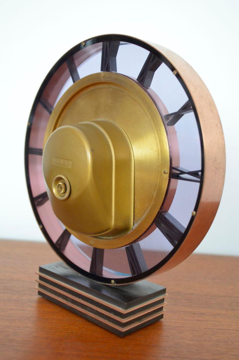 horloge de table art d co par heinrich m ller pour kienzle en vente sur pamono. Black Bedroom Furniture Sets. Home Design Ideas