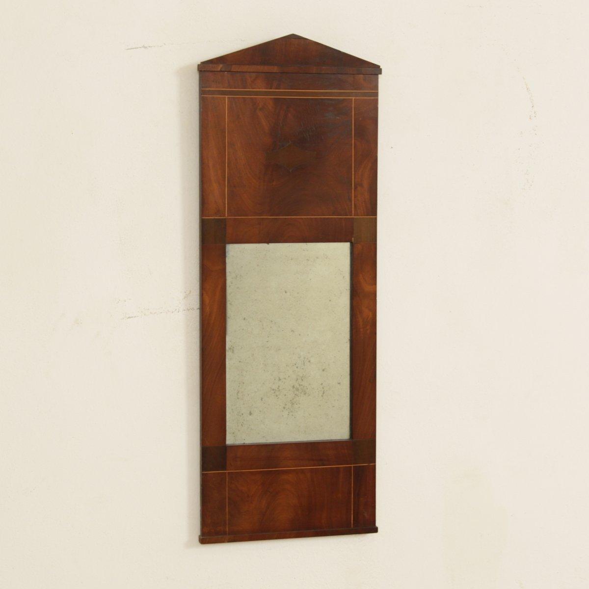 kleiner antiker empire spiegel bei pamono kaufen. Black Bedroom Furniture Sets. Home Design Ideas
