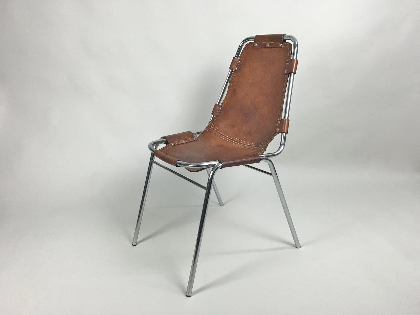 chaises les arcs par charlotte perriand set de 4 en vente sur pamono. Black Bedroom Furniture Sets. Home Design Ideas