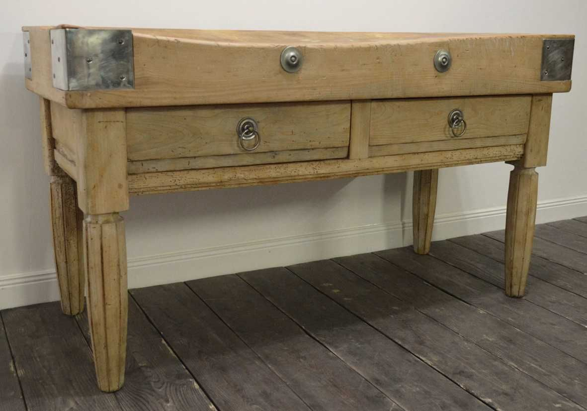 vintage french butcher block for sale at pamono