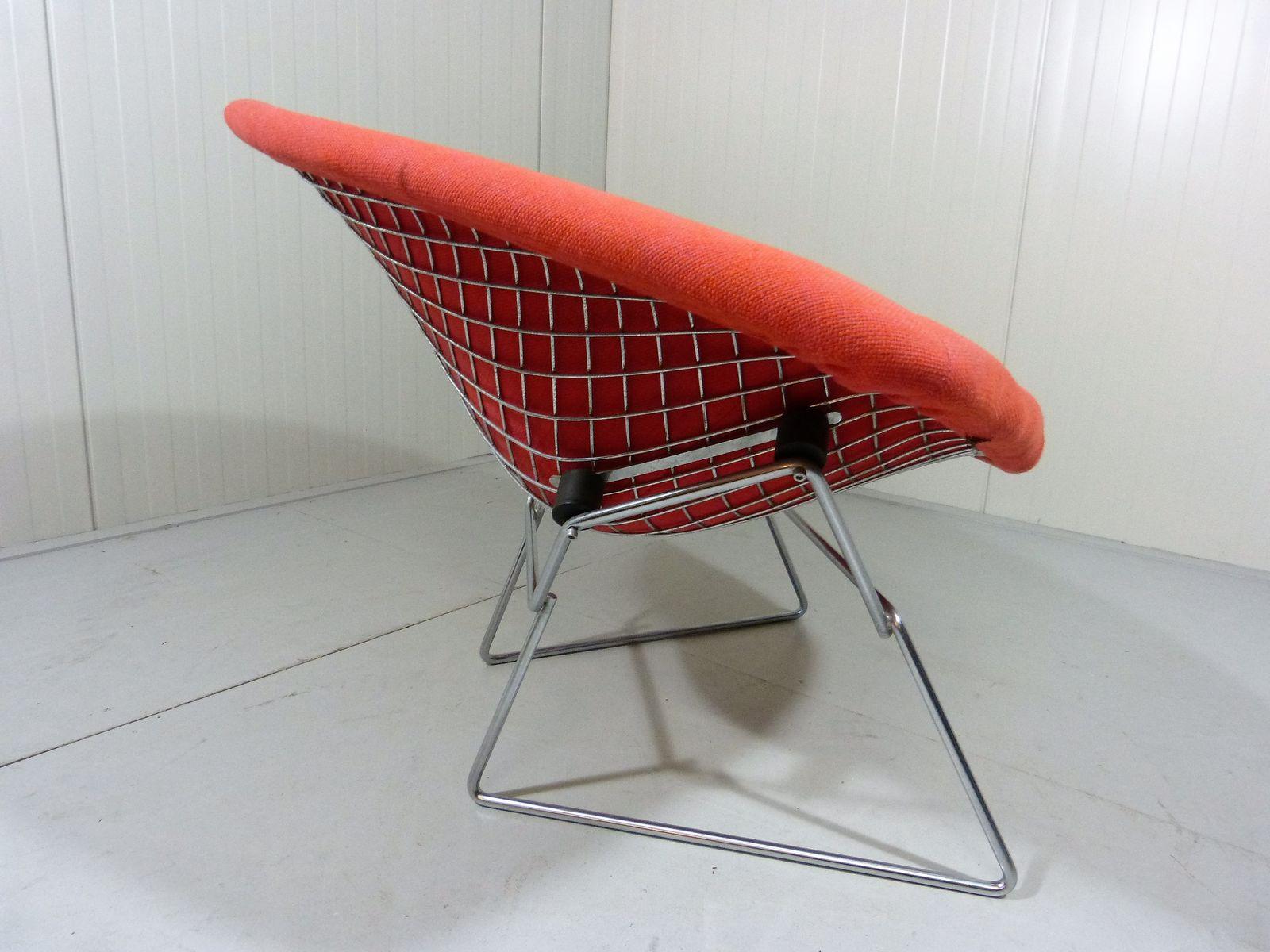 grande chaise diamond par harry bertoia pour knoll en vente sur pamono. Black Bedroom Furniture Sets. Home Design Ideas