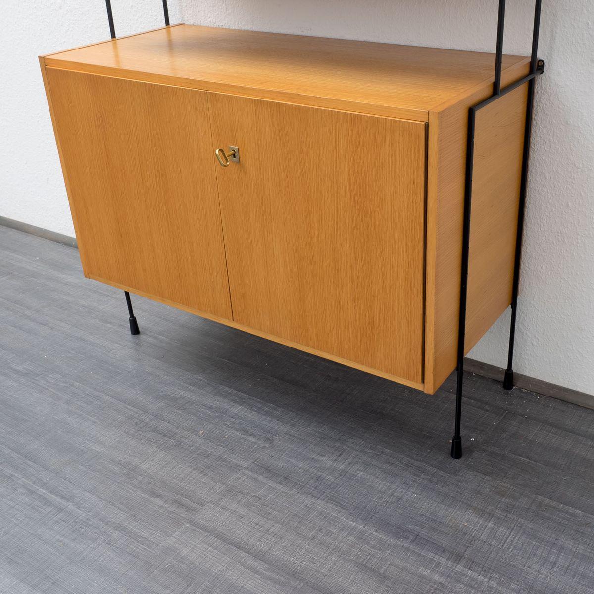 modulares regalsystem von hilker bei pamono kaufen. Black Bedroom Furniture Sets. Home Design Ideas