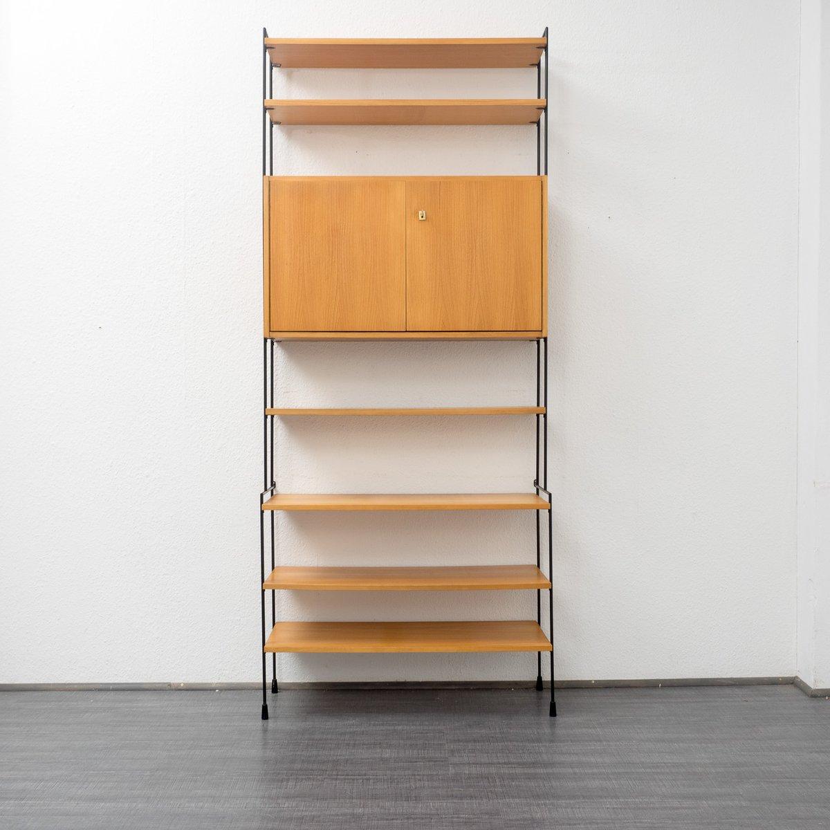 omnia modulares regalsystem von hilker 1960er bei pamono. Black Bedroom Furniture Sets. Home Design Ideas