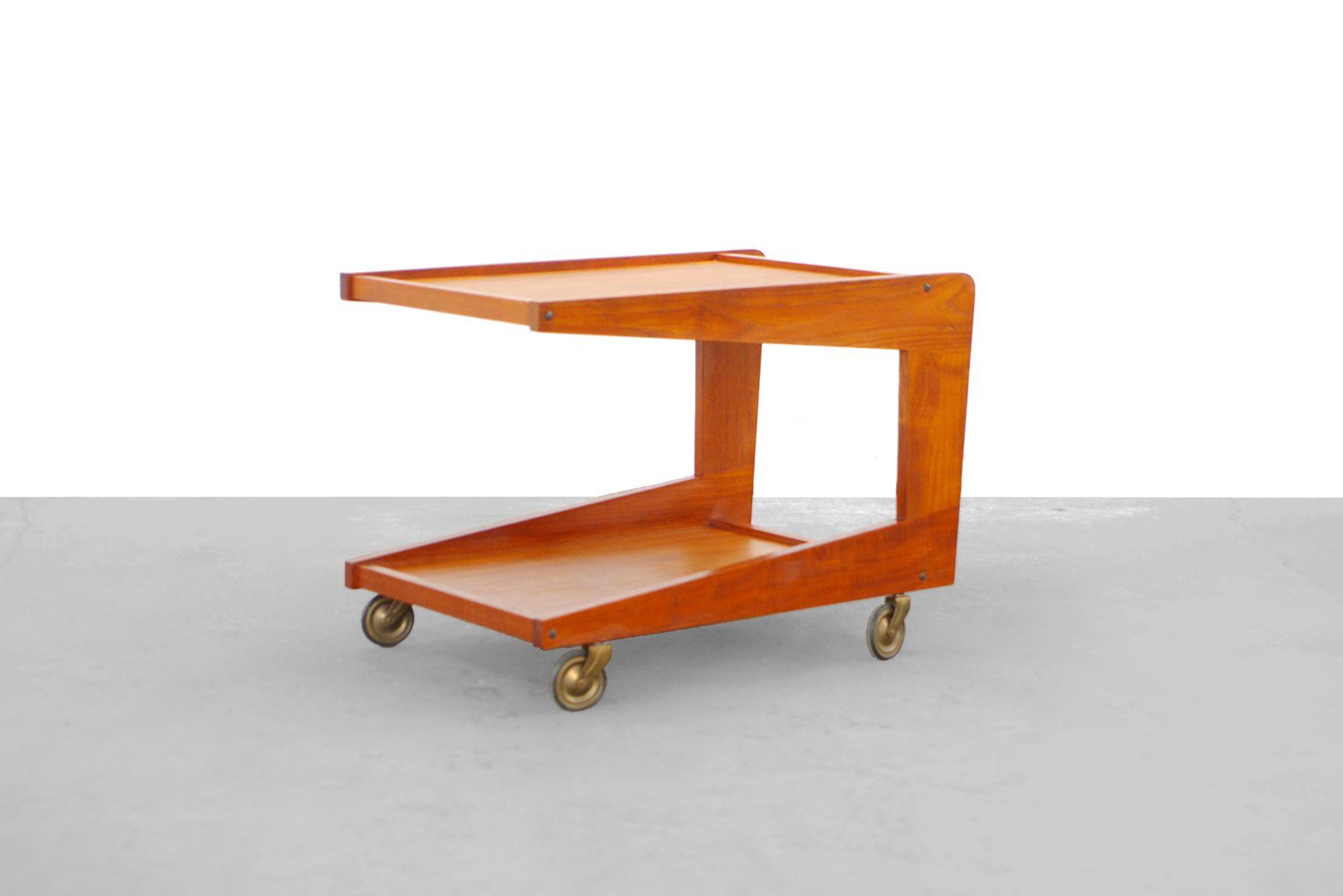 danish modern teak servierwagen von sika m bler 1960 bei pamono kaufen. Black Bedroom Furniture Sets. Home Design Ideas