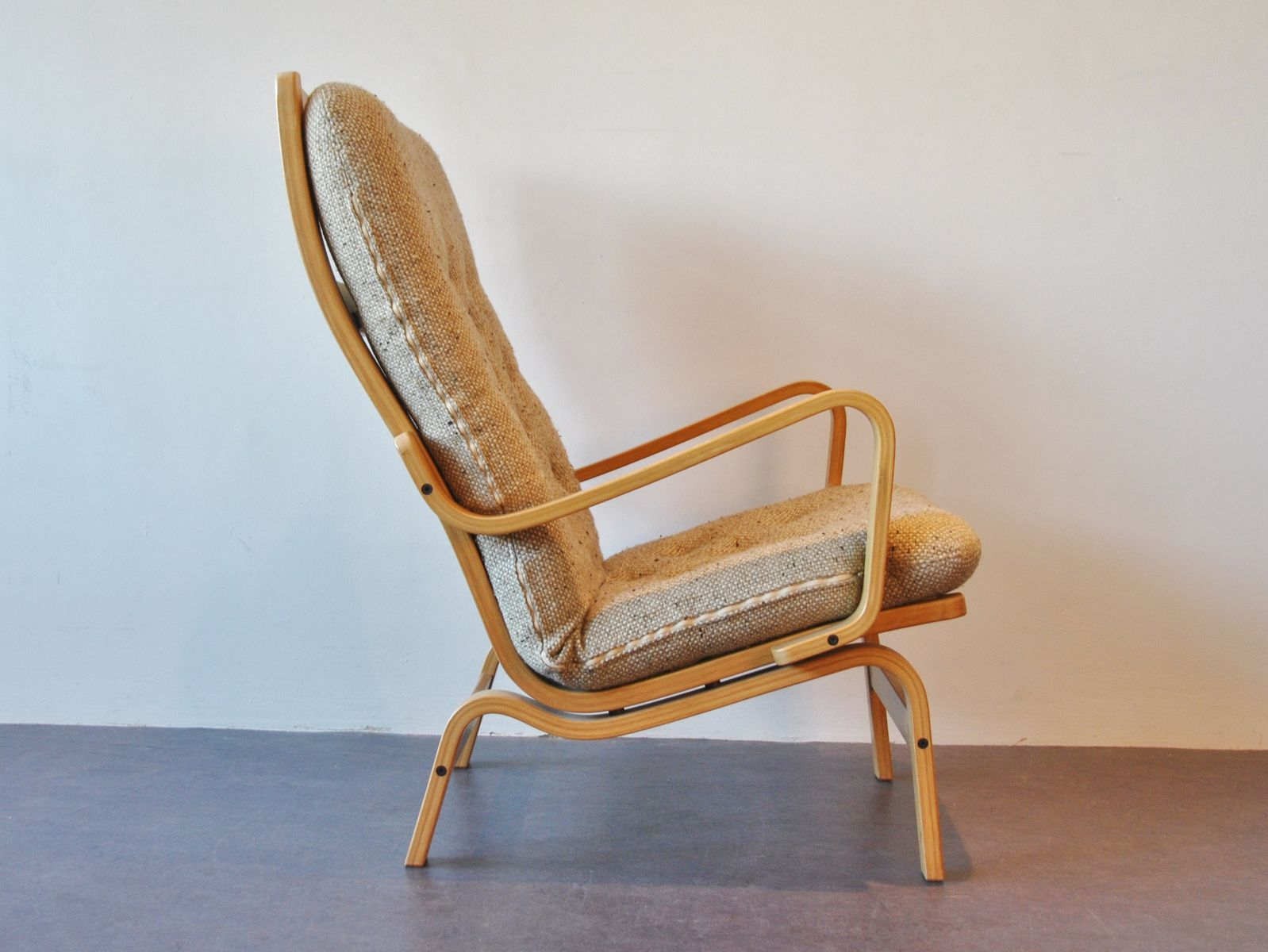 Contino Lounge Chair by Yngve Ekström for Swedese, 1980s for sale at Pamono