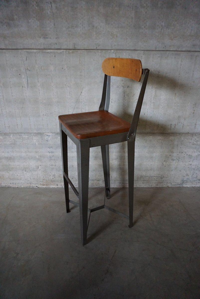 Englischer fabrik hochstuhl 1950er bei pamono kaufen for Stuhl fabrik design