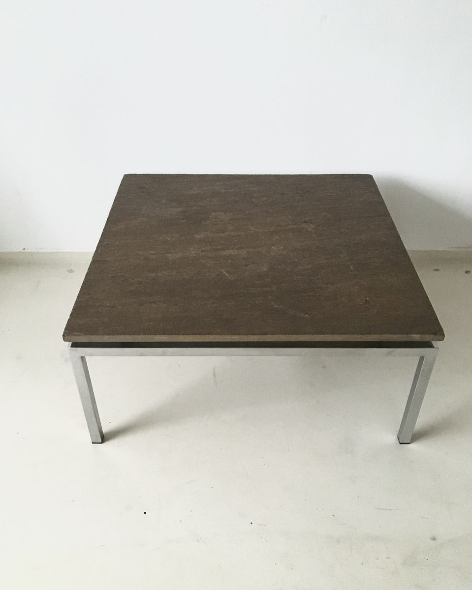 Brutalist Stone Coffee Table 1960s for sale at Pamono
