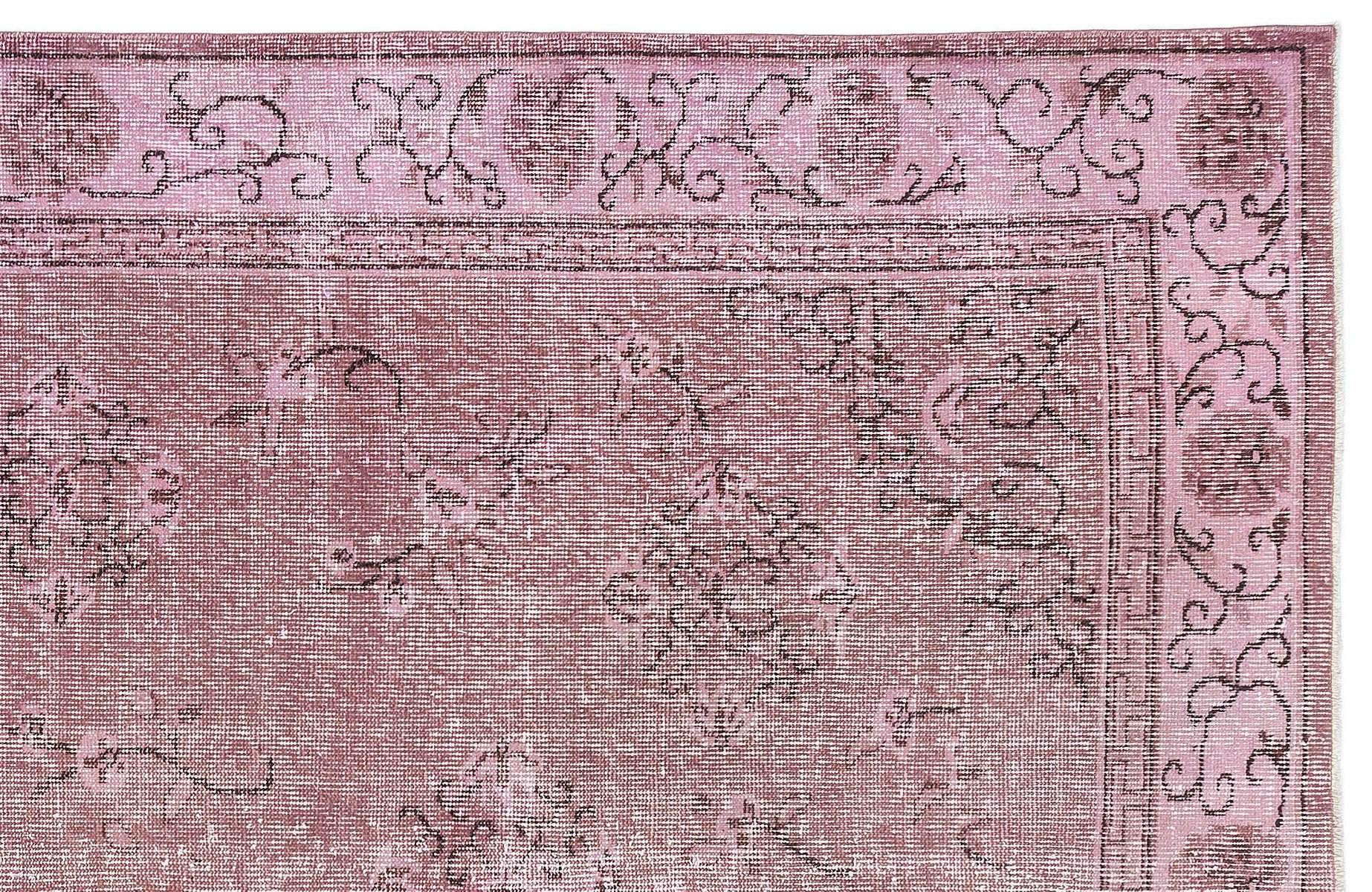 Teppich kaufen  Türkischer Vintage Teppich in Rosa bei Pamono kaufen