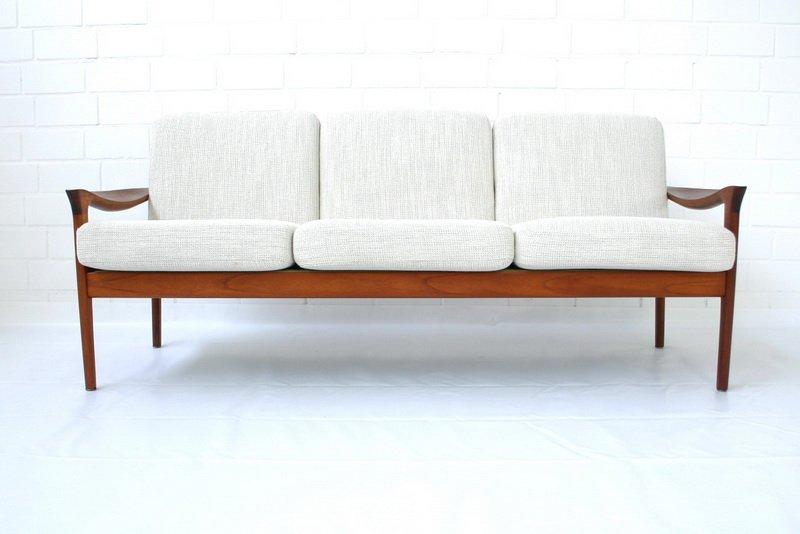 danish teak sofa by niels eilersen 1960s for sale at pamono. Black Bedroom Furniture Sets. Home Design Ideas
