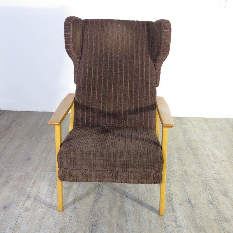 Vintage Corduroy Armchair 1960s For Sale At Pamono
