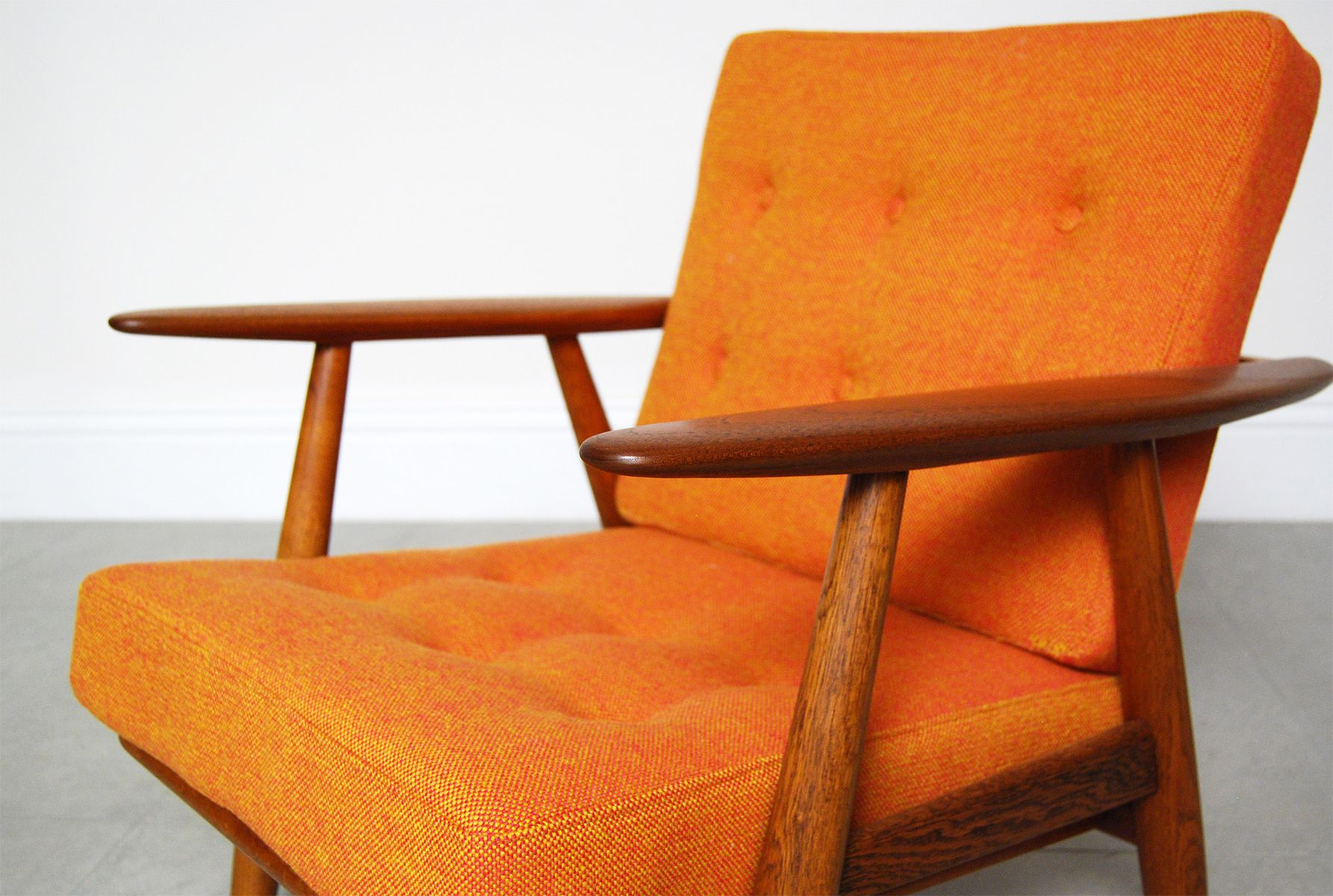 GE 240 Cigar Chair By Hans Wegner For Getama For Sale At Pamono