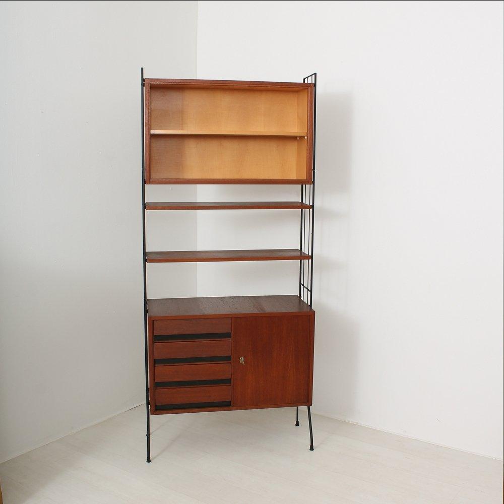 vintage teak string regal bei pamono kaufen. Black Bedroom Furniture Sets. Home Design Ideas
