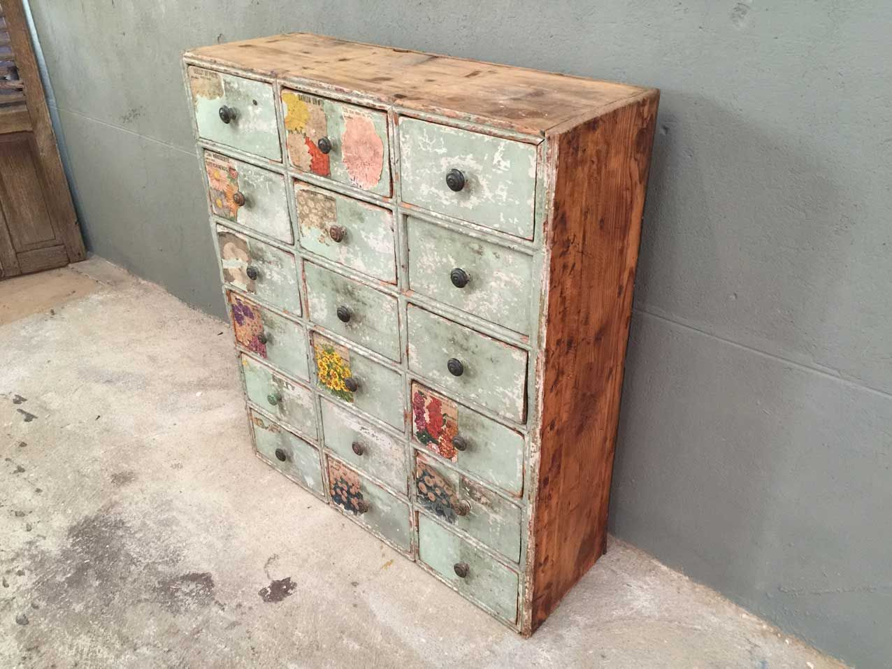 French Vintage Drawer Cabinet For Sale At Pamono