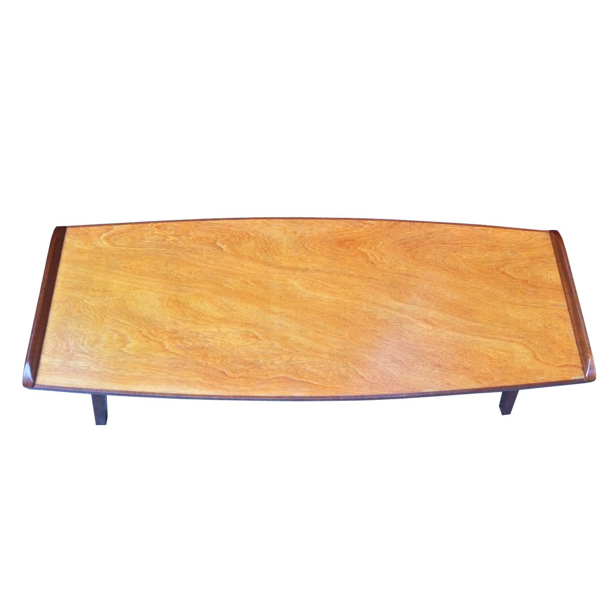 English mid century teak coffee table 1960s for sale at for Teak coffee table