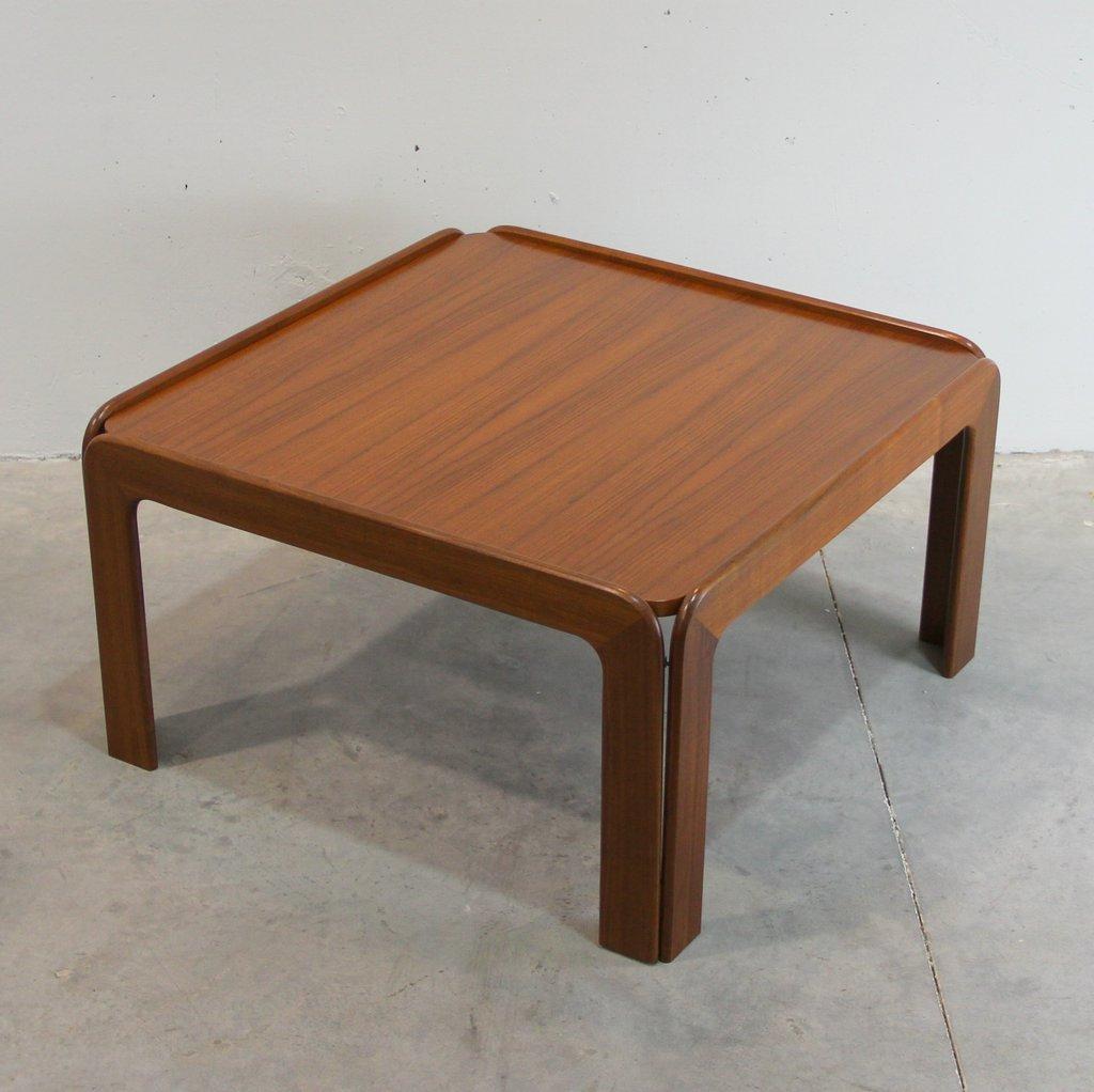 Teak Danish Coffee Table 1960s For Sale At Pamono