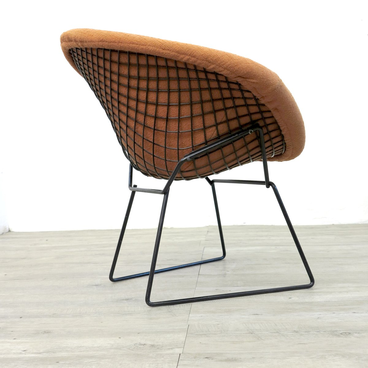 vintage diamond chair by harry bertoia for knoll 1970s. Black Bedroom Furniture Sets. Home Design Ideas