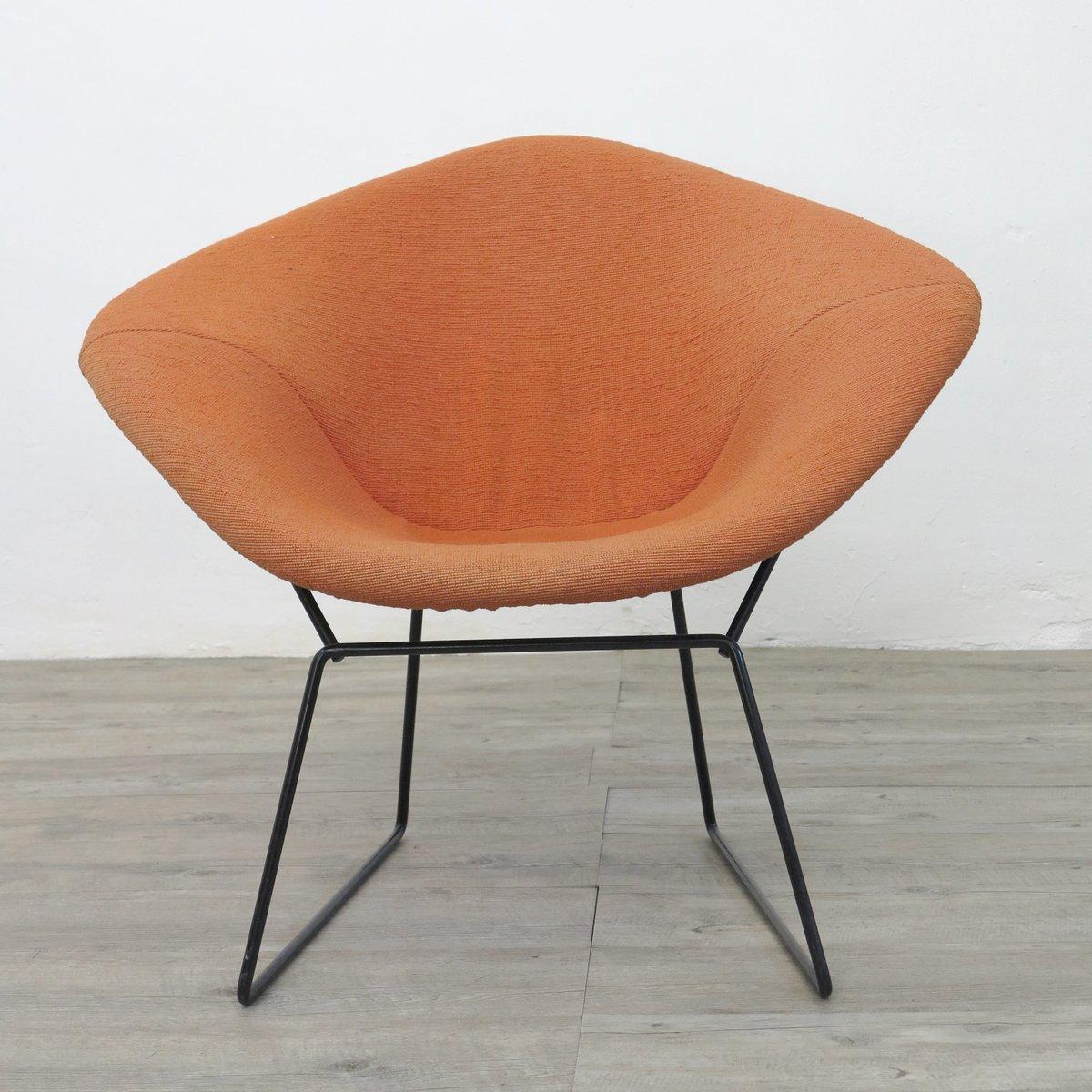 chaise diamond vintage par harry bertoia pour knoll 1970s en vente sur pamono. Black Bedroom Furniture Sets. Home Design Ideas