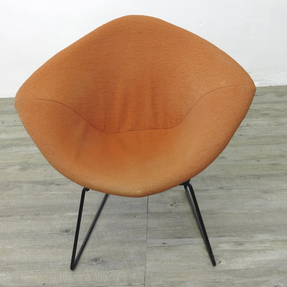 diamond chair by harry bertoia for knoll 1970s for sale at pamono. Black Bedroom Furniture Sets. Home Design Ideas