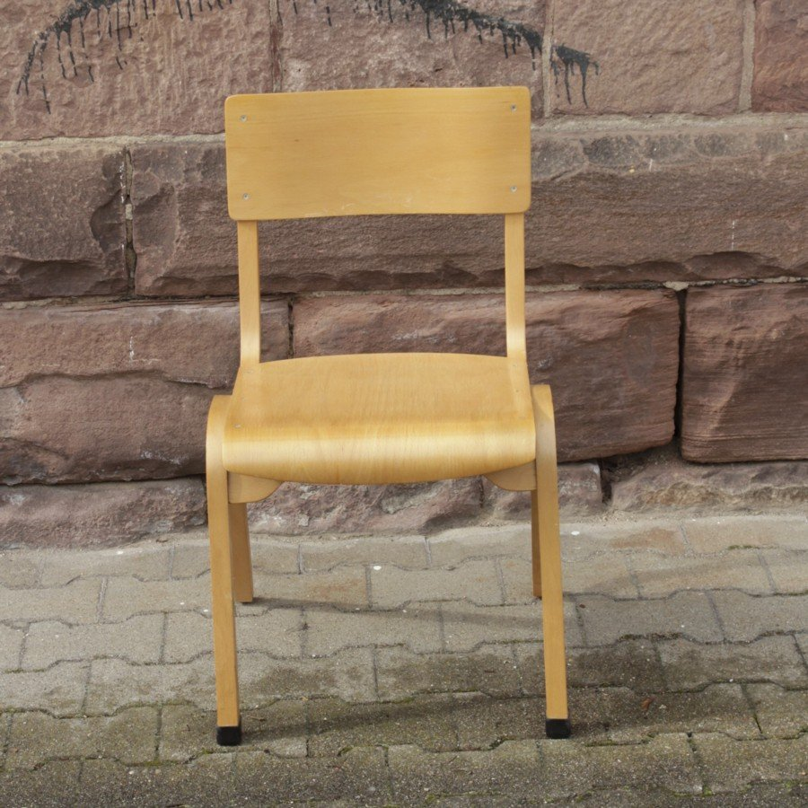 vintage stuhl aus sperrholz bei pamono kaufen. Black Bedroom Furniture Sets. Home Design Ideas