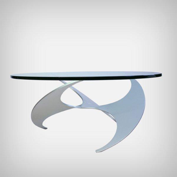 Propeller Couchtisch Modell K9 von Knut Hesterberg für