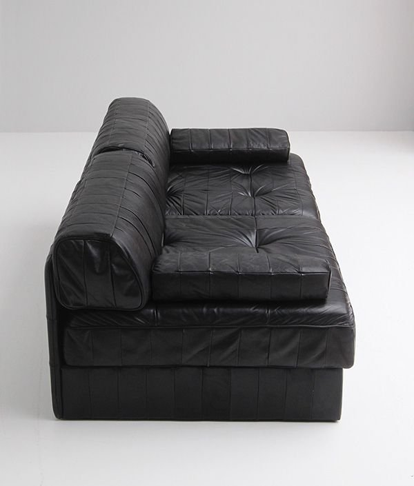 canap modulable ds88 en cuir de de sede en vente sur pamono. Black Bedroom Furniture Sets. Home Design Ideas