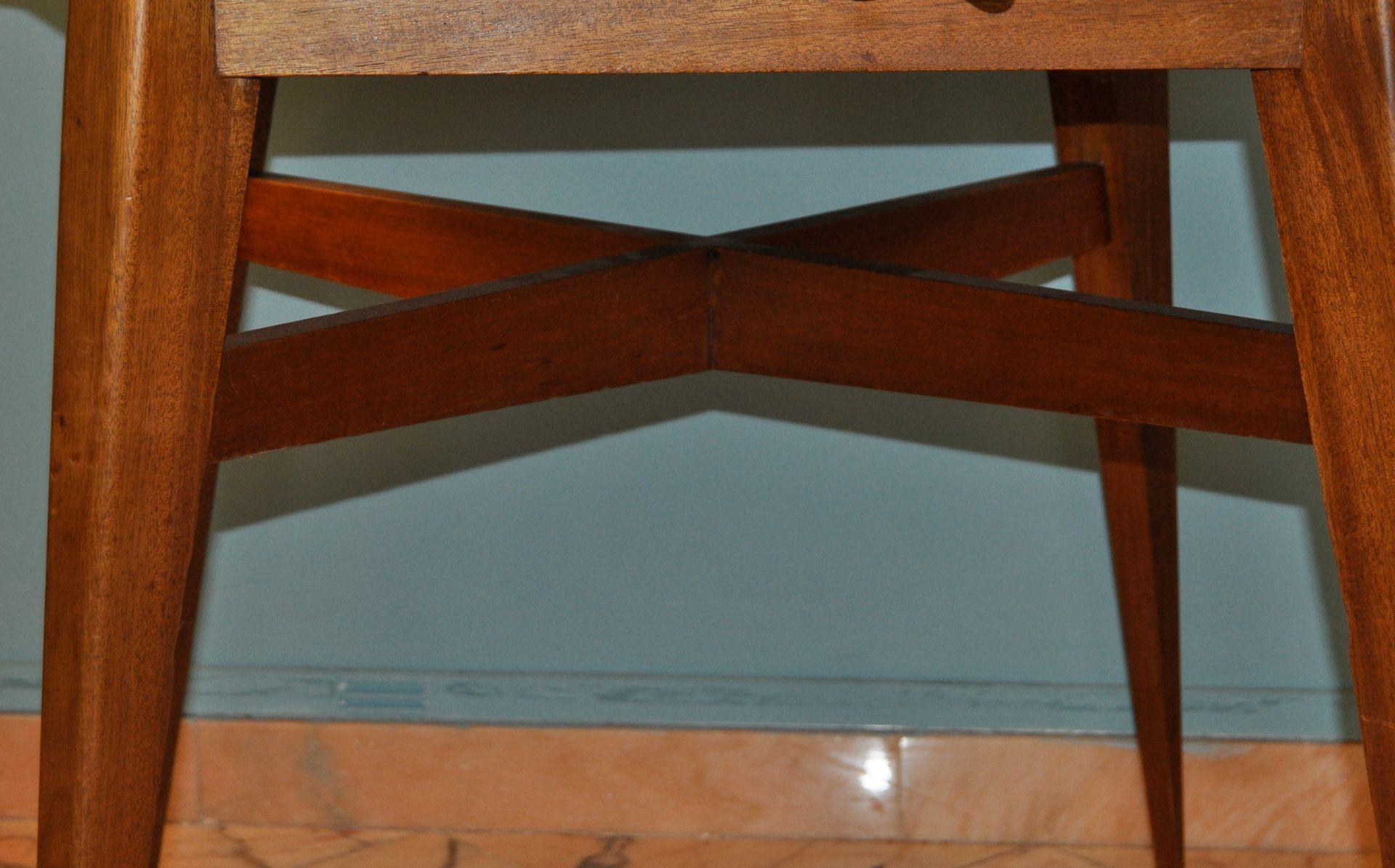 Table de salle manger rallonge par roger landault for Salle a manger 1950