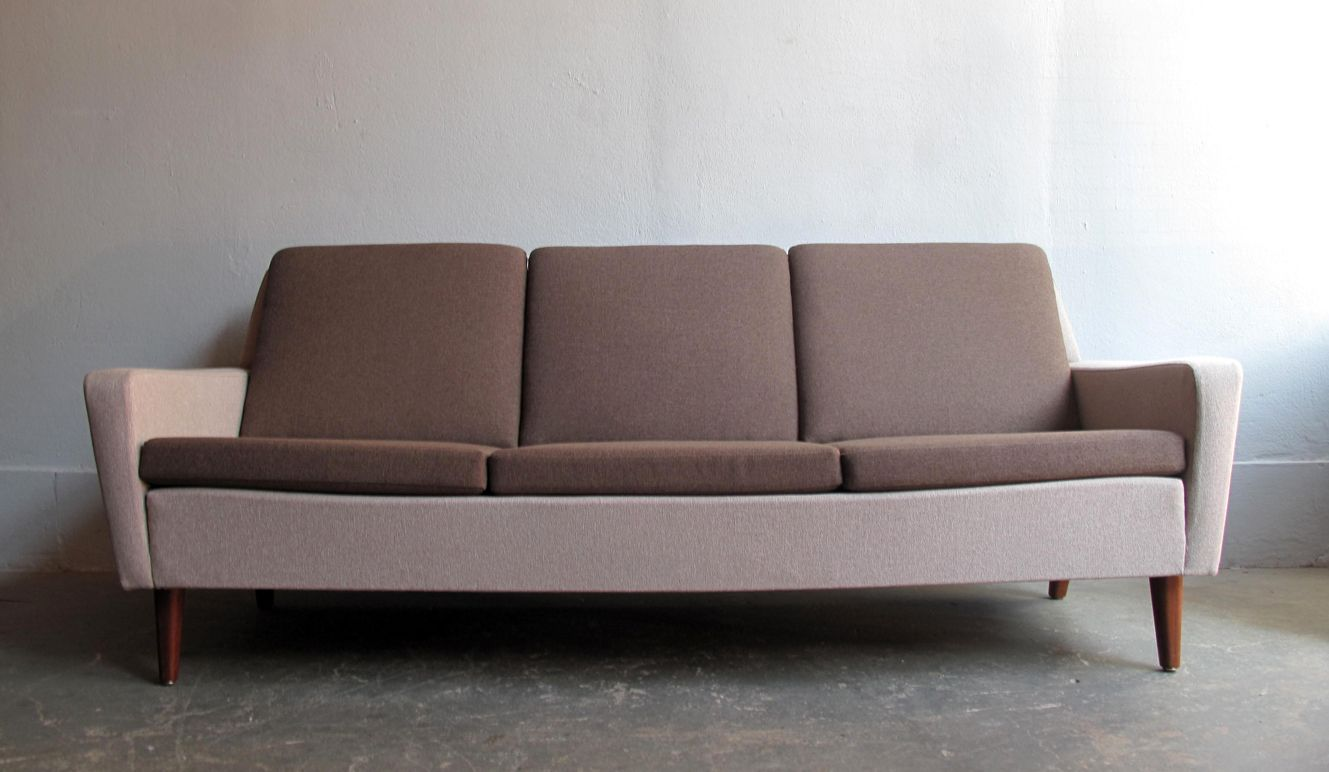 Vintage swedish three seater sofa from dux for sale at pamono for Swedish sofa