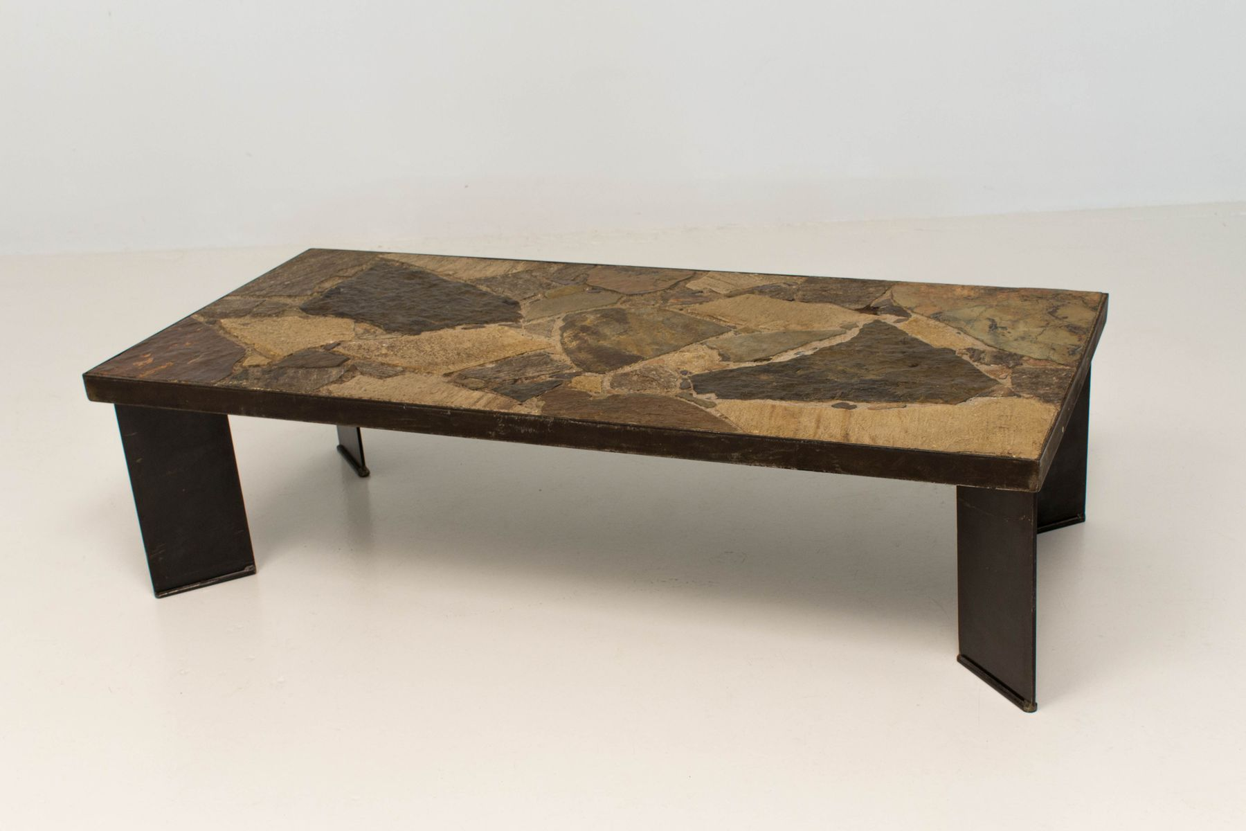 Brutalist Coffee Table for sale at Pamono
