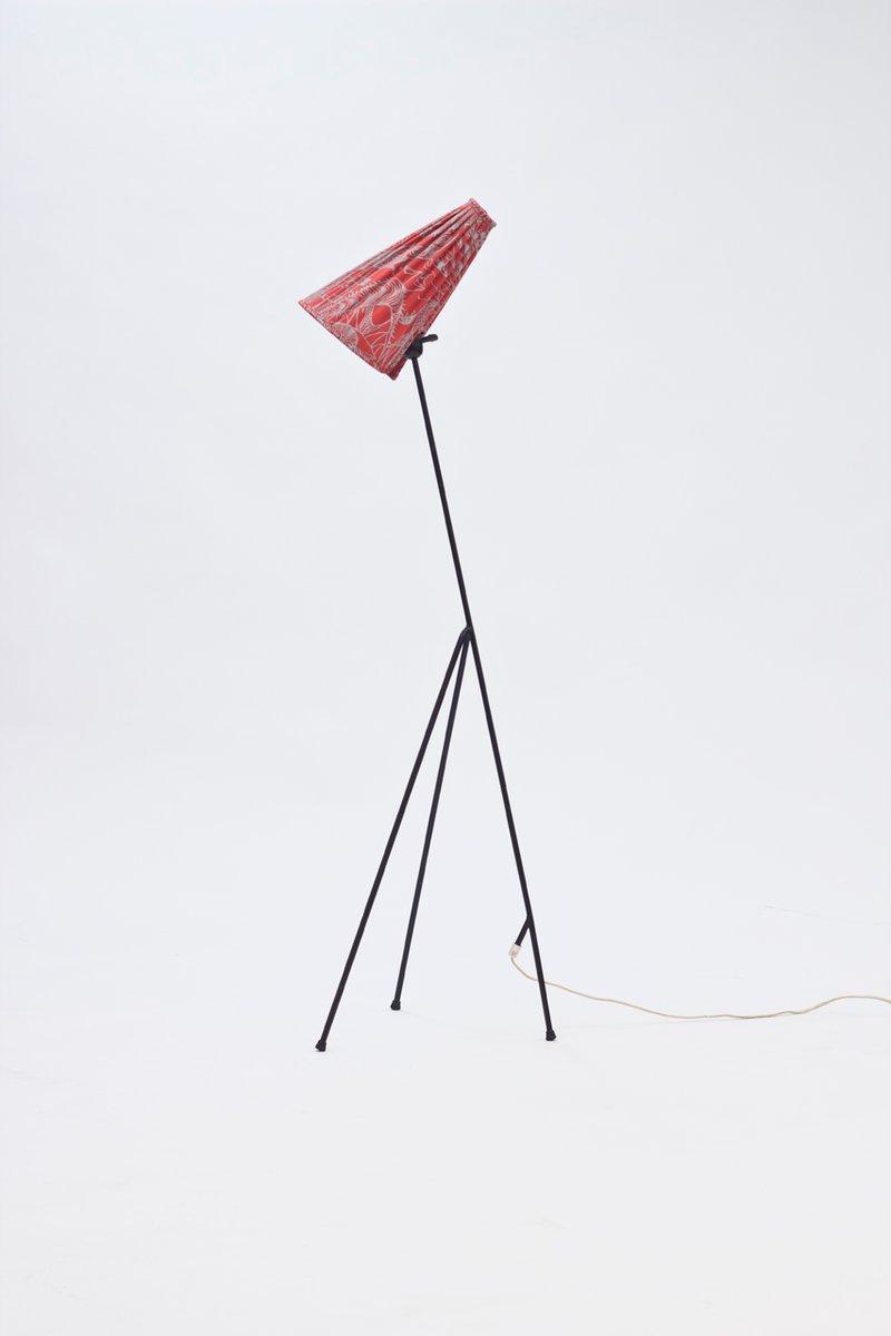 giraffe floor lamp by hans bergstrm 1950s - Giraffe Lamp