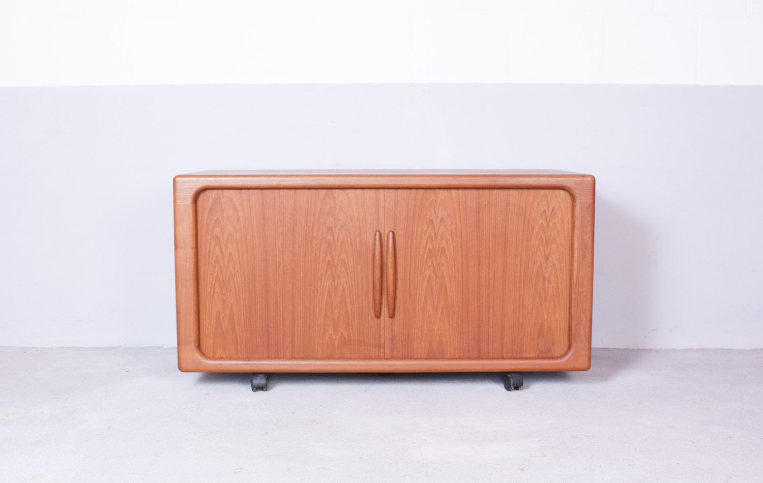 Sideboard with Tambour Doors by Dyrlund 1960s & Sideboard with Tambour Doors by Dyrlund 1960s for sale at Pamono Pezcame.Com