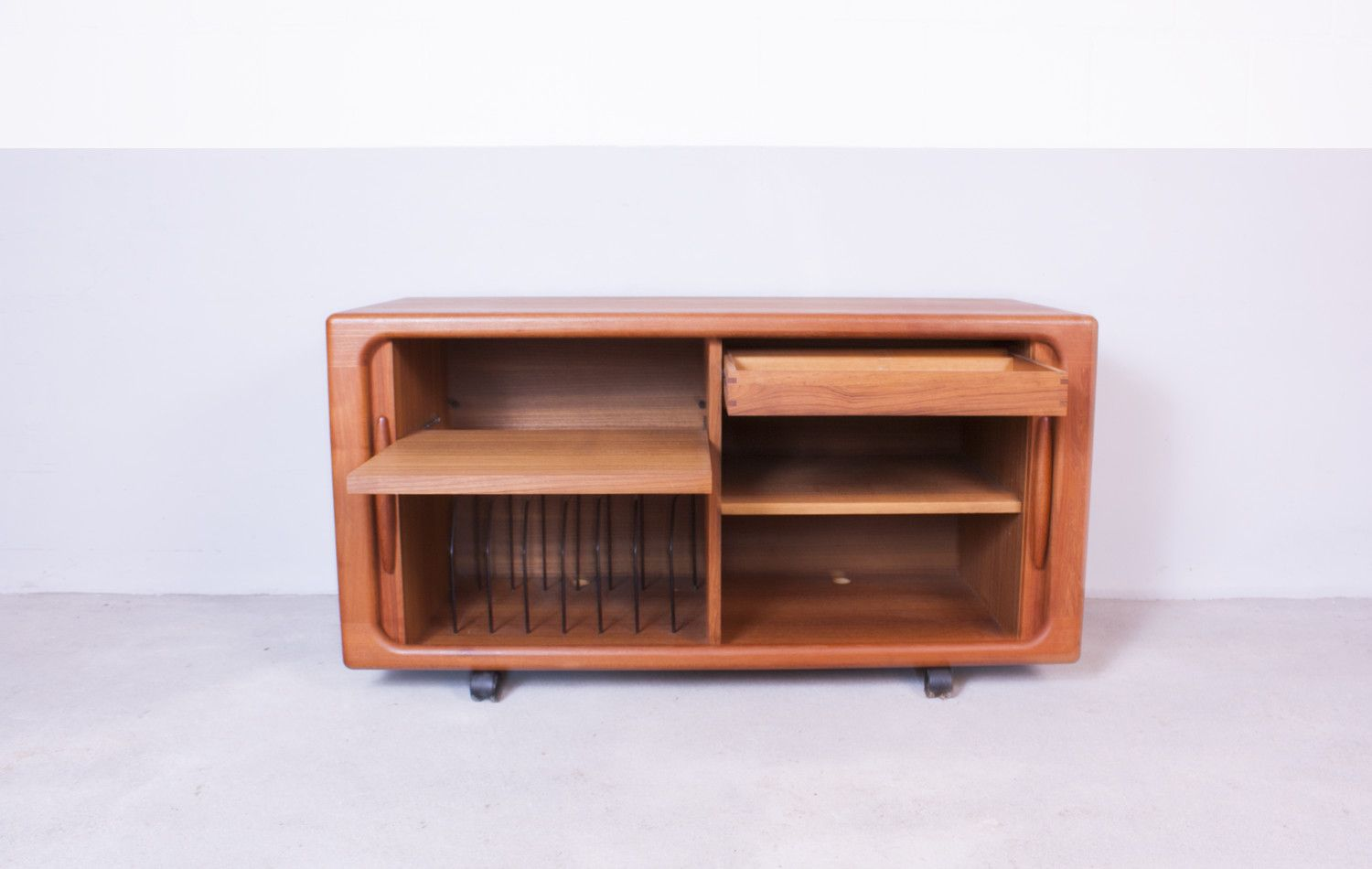 On Hold & Sideboard with Tambour Doors by Dyrlund 1960s for sale at Pamono Pezcame.Com