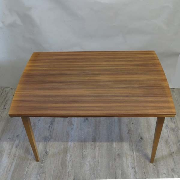 ausziehbarer esstisch aus skandinavien 1950er bei pamono. Black Bedroom Furniture Sets. Home Design Ideas