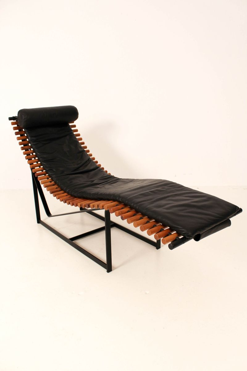 Mid century modern french chaise longue 1970s for sale at for Chaise longue 2 personnes